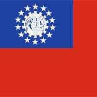 Myanmar - Birma vlag